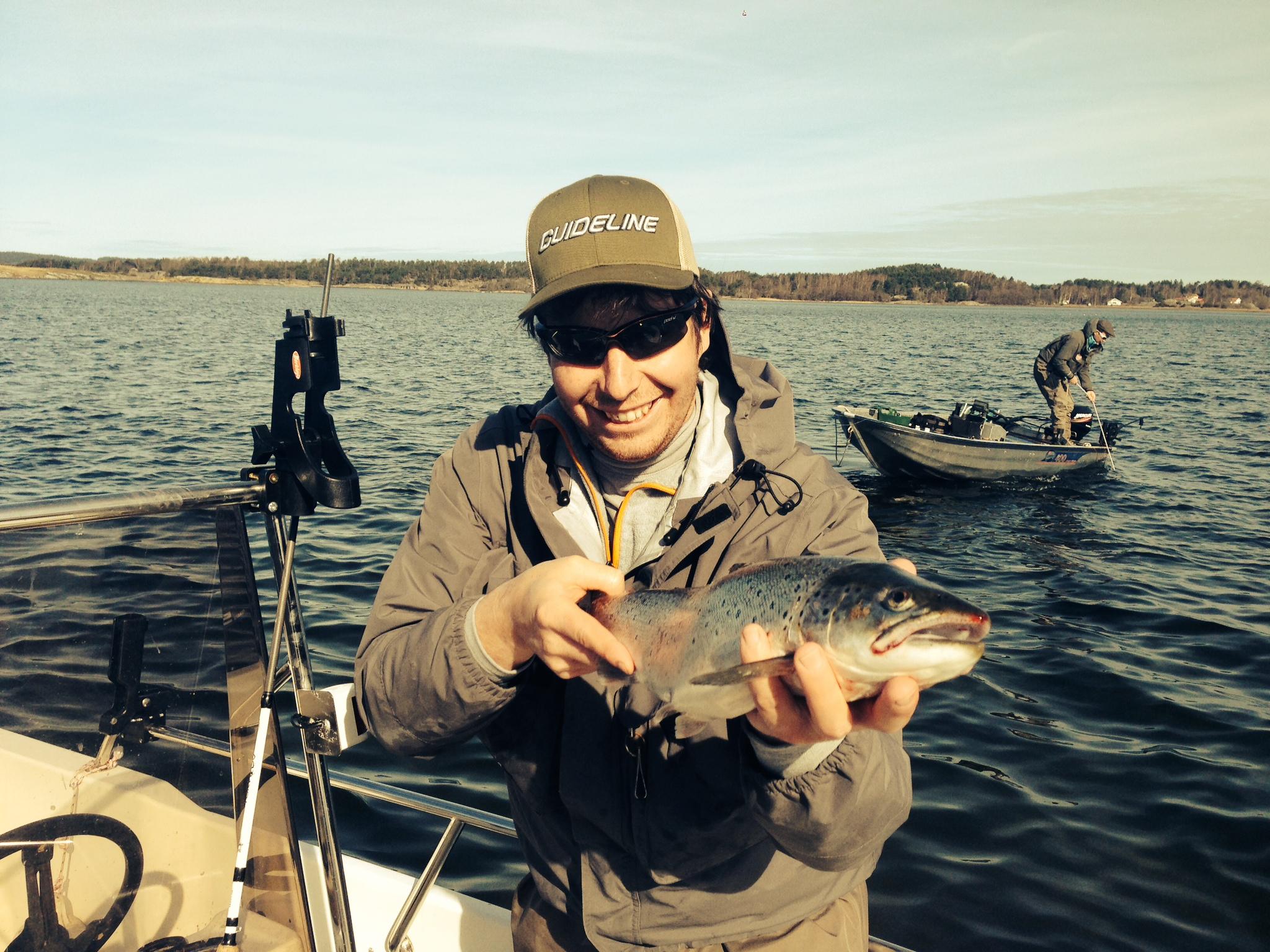 Boende i lantlig miljö med guidat fiske